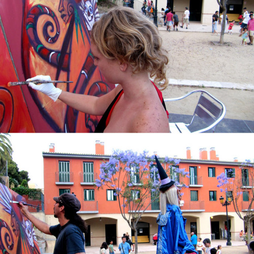 action-painting-bruixes-palafrugell-1
