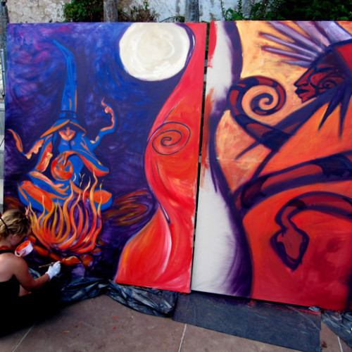 action-painting-bruixes-palafrugell-3