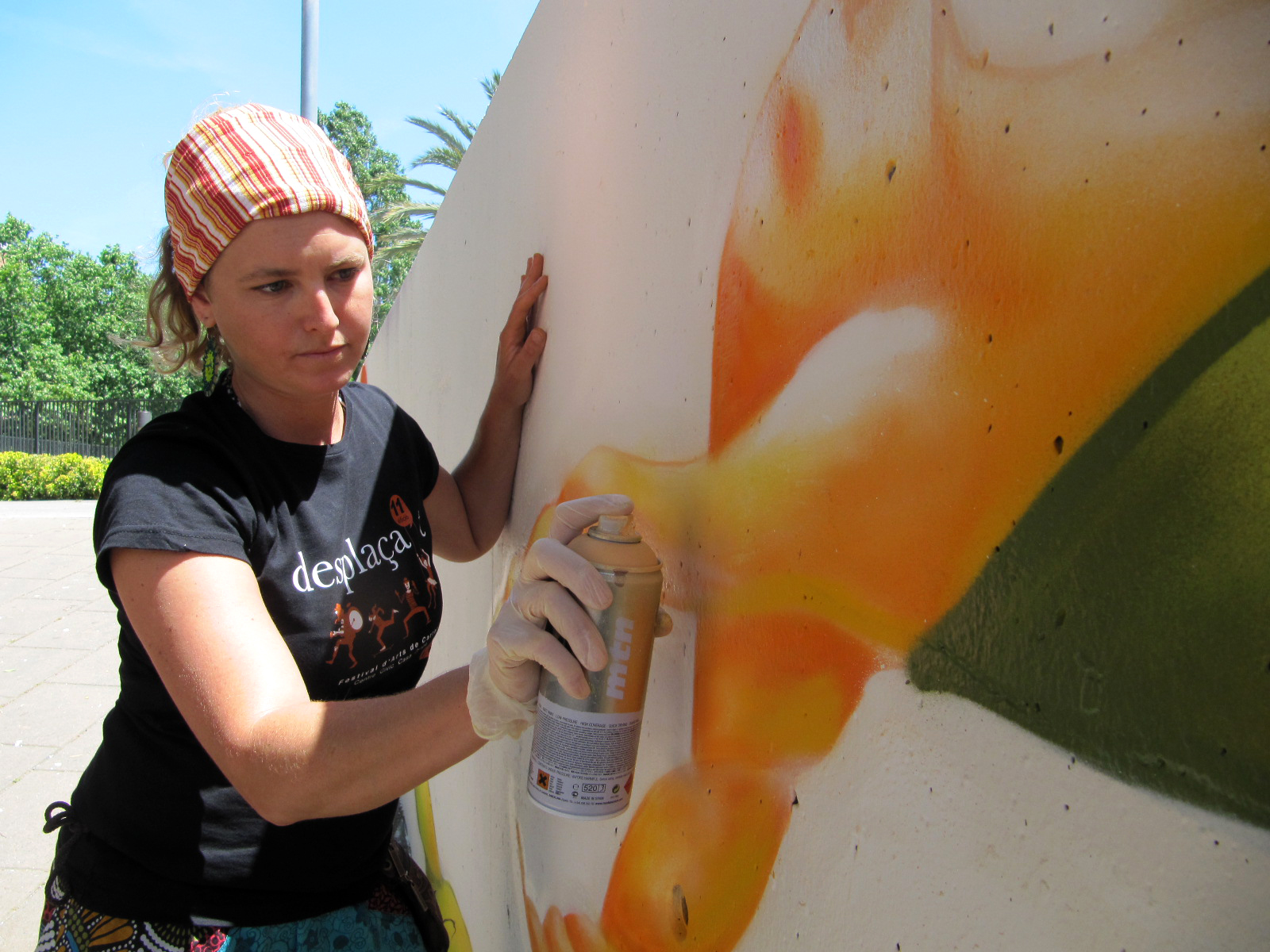 pintura mural graffiti - action painting