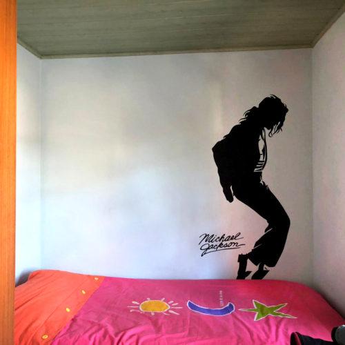 Pintura Mural de Michael Jackson