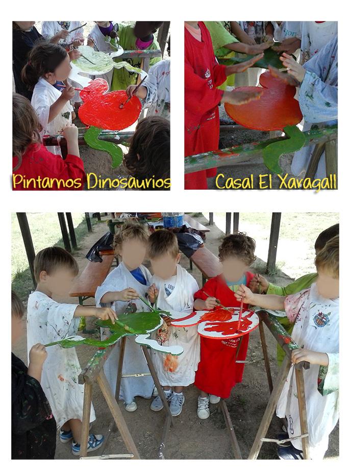 Taller de Pintura Infantil - Pintamos Dinosaurios