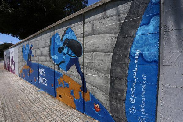 Taller de Pintura Mural: Inmigración, Lliçà de Vall
